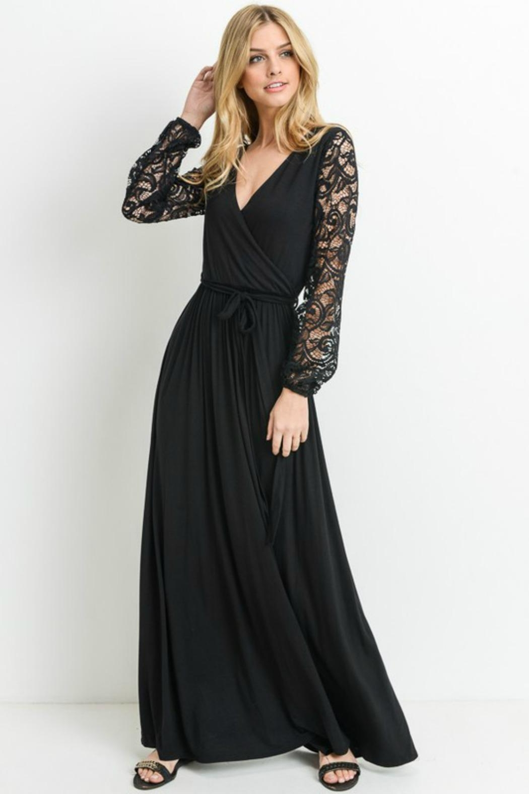 Modern Emporium Maxi Lace Dress - Front Full Image