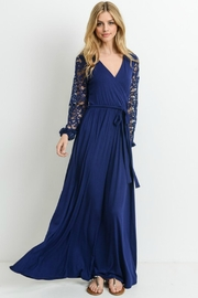 Modern Emporium Maxi Lace Dress - Product Mini Image
