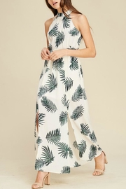 Staccato Maxi Palm Dress - Product Mini Image