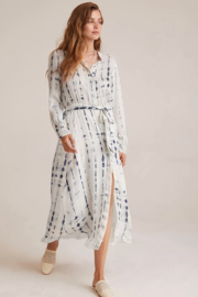 Bella Dahl  Maxi Shirt Dress - Front cropped