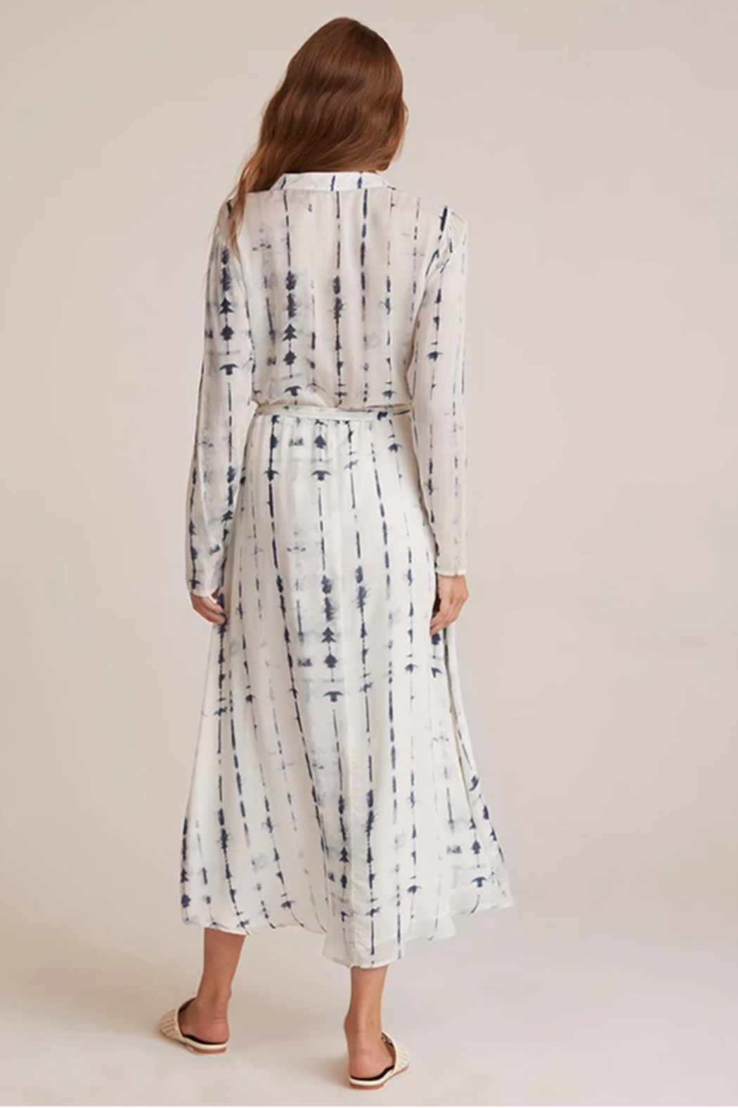 Bella Dahl  Maxi Shirt Dress - Back Cropped Image