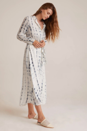 Bella Dahl  Maxi Shirt Dress - Front full body