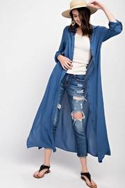 easel Maxi Shirt Dress - Product Mini Image