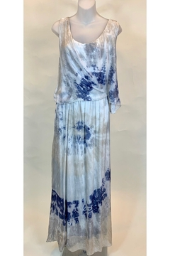 SCANDAL MAXI SILK DRESS - Product List Image