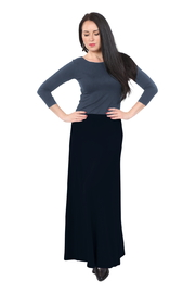 Kosher Casual Maxi Skirt for Women - Front cropped