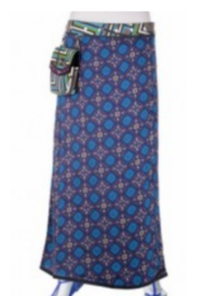 IBIZA Maxi Skirt with waist purse (sizes 0 to 12) - Product Mini Image