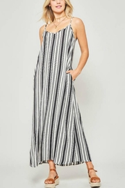 Promesa USA Maxi Stripe Slip-Dress - Product Mini Image