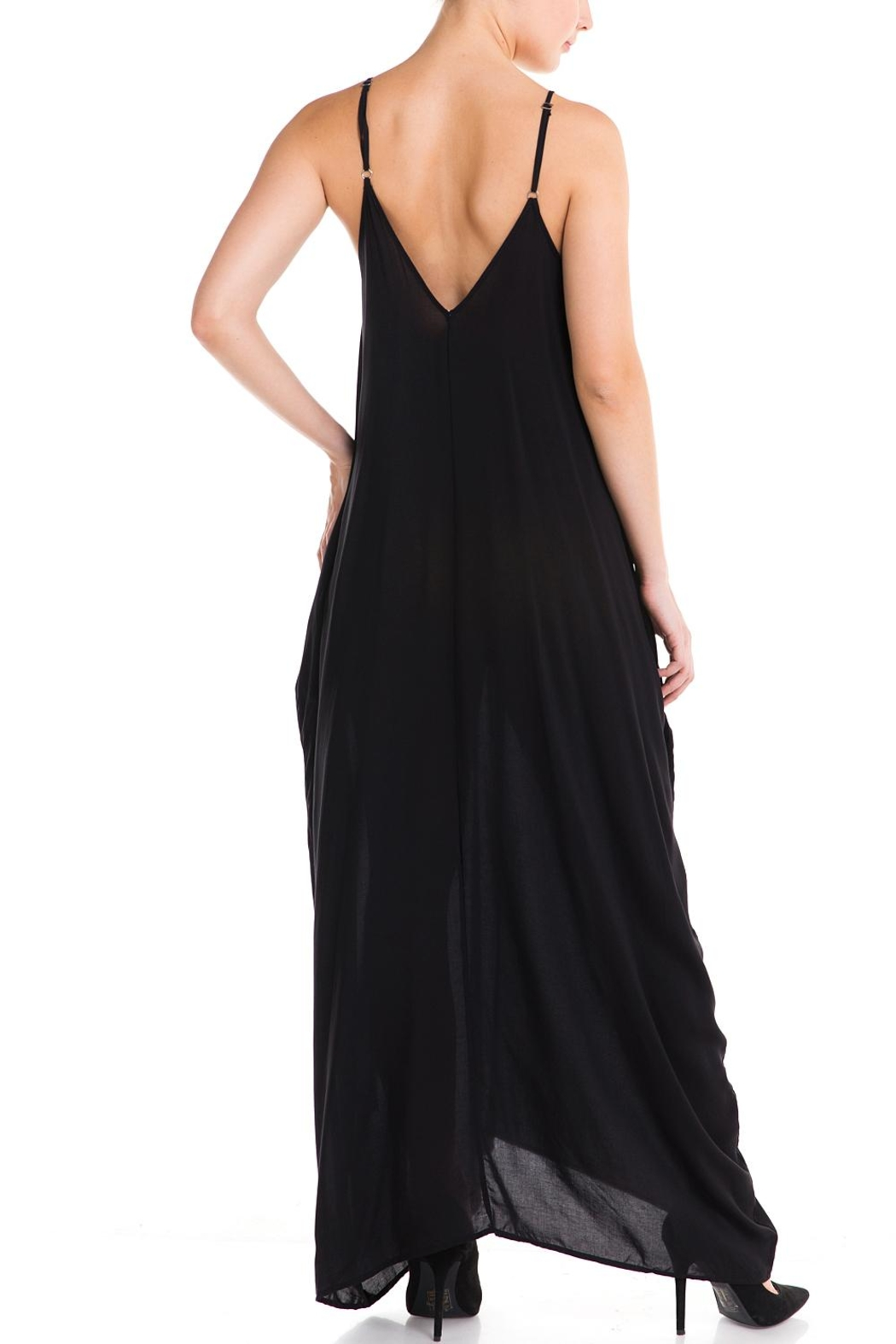 Elan Maxi Sun Dress - Back Cropped Image
