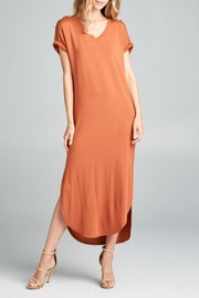 Ellison Maxi Tee Dress - Product Mini Image