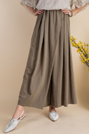 easel  Maxi Wide Leg Pants - Front cropped