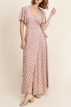 In Loom Maxi Wrap Dress - Product List Image