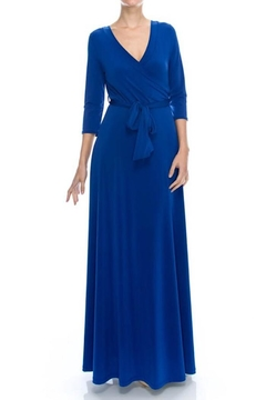 Janette Maxi Wrrap Dress - Product List Image