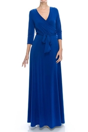Janette Maxi Wrrap Dress - Product Mini Image