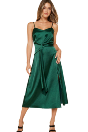 Sugarlips Maxine Satin Dress - Front cropped