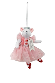 DEMDACO Maxine-The-Mouse-Clara-Ornament - Front cropped