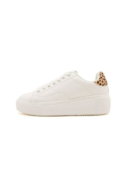 Qupid Maxmino Lace-Up Sneaker - Front cropped