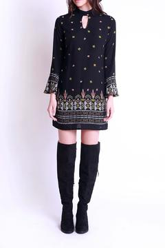 Shoptiques Product: Black Print Dress