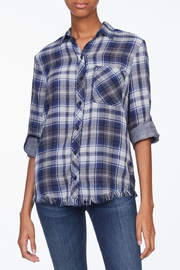 beachlunchlounge Maxwell Plaid Button Down - Product Mini Image