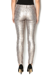 may and july inc Sequin Legging - Back cropped