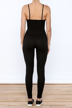 May Pink Black Fitted Jumpsuit - Alternate List Image