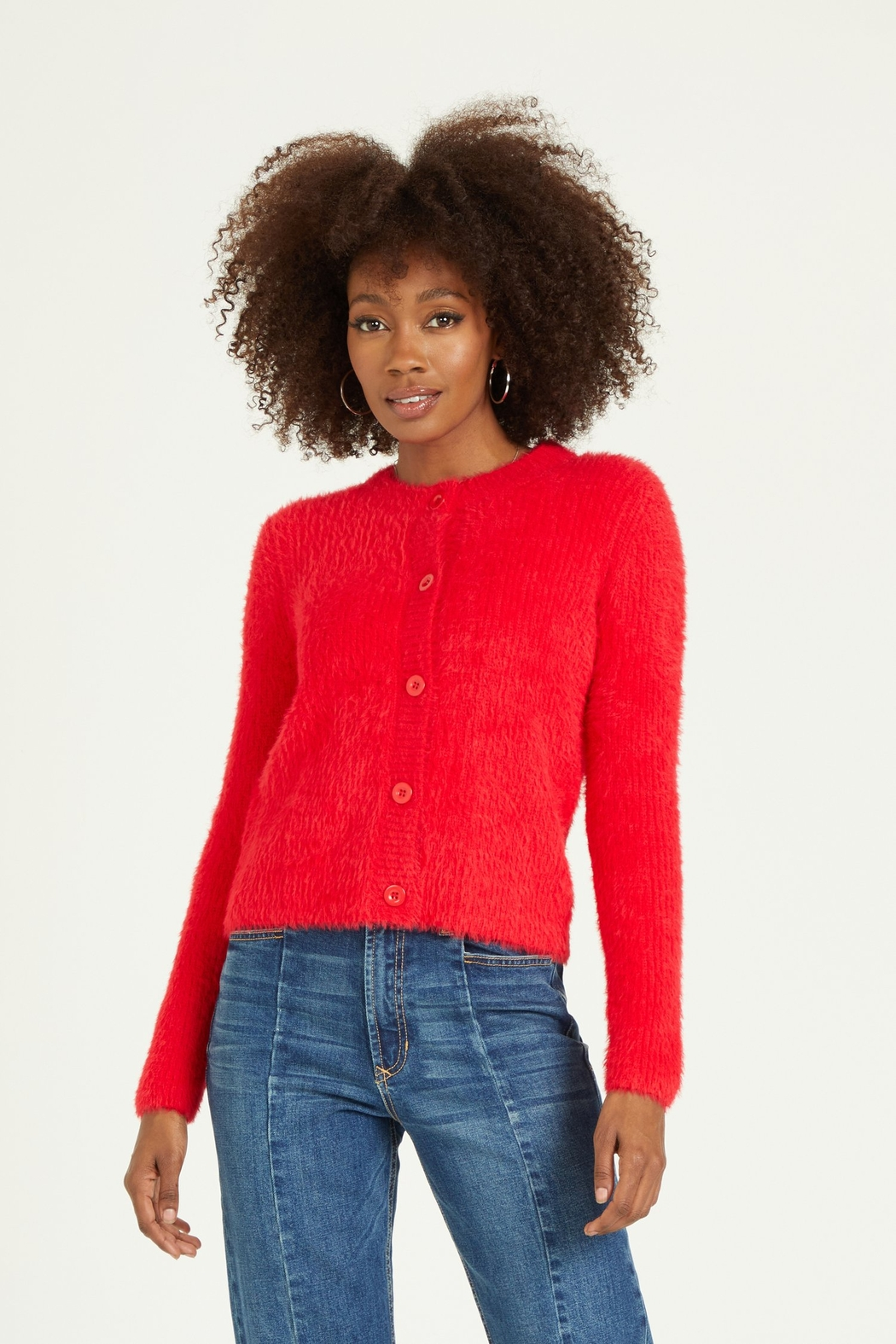 Dear john  MAY CARDIGAN SWEATER - Front Cropped Image