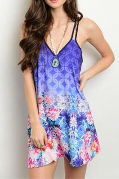 Shoptiques Product: Colorful Vacation Dress