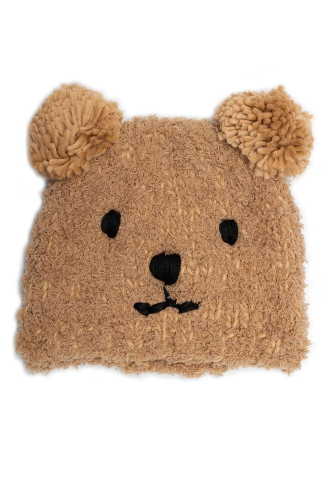 May 23 Bear Knit Beanie - Front Cropped Image