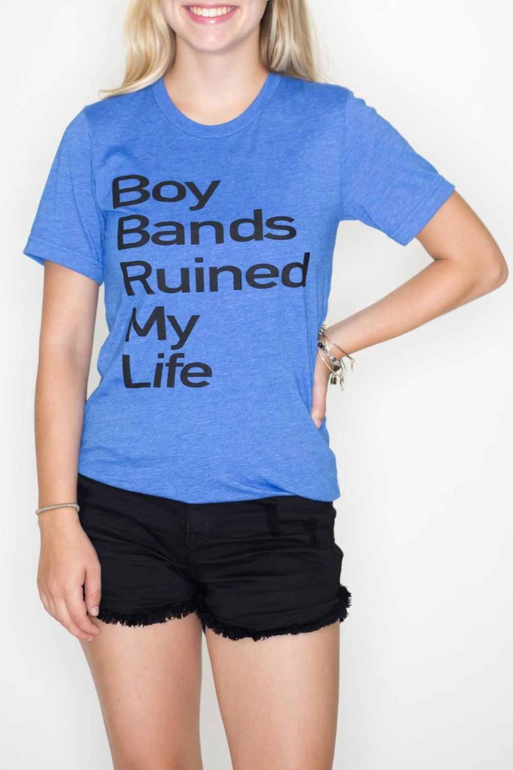 May 23 Boy Bands Tee - Front Cropped Image