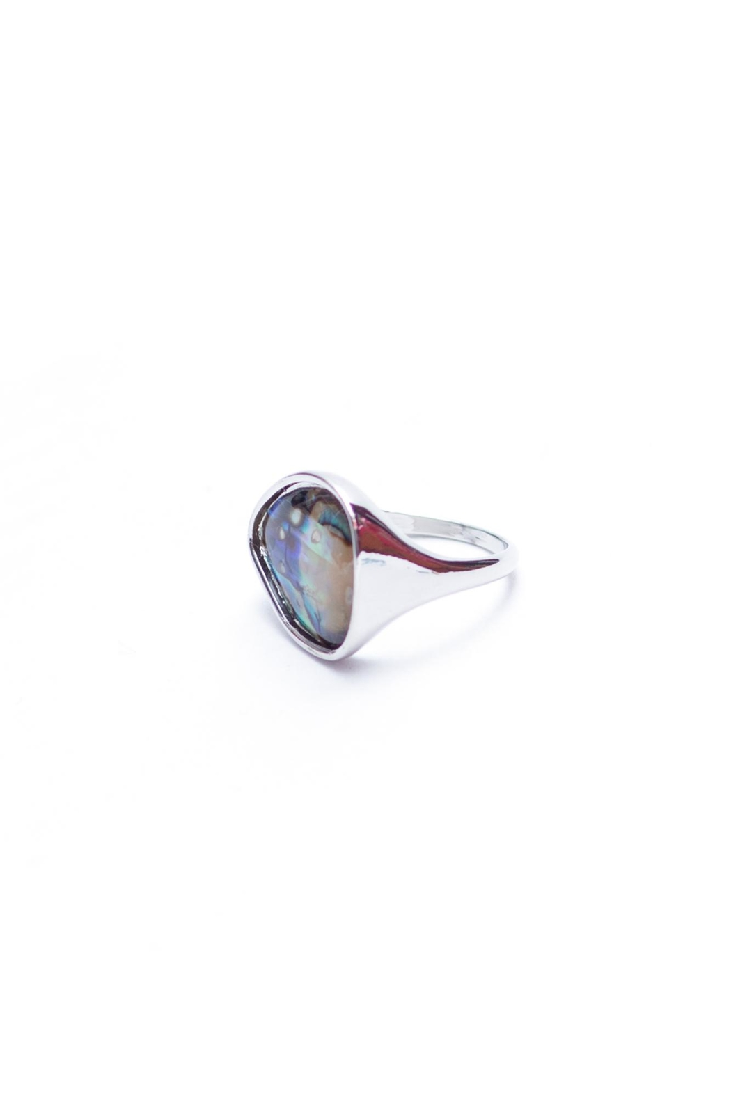 May 23 Bulky Metallic Ring - Front Full Image