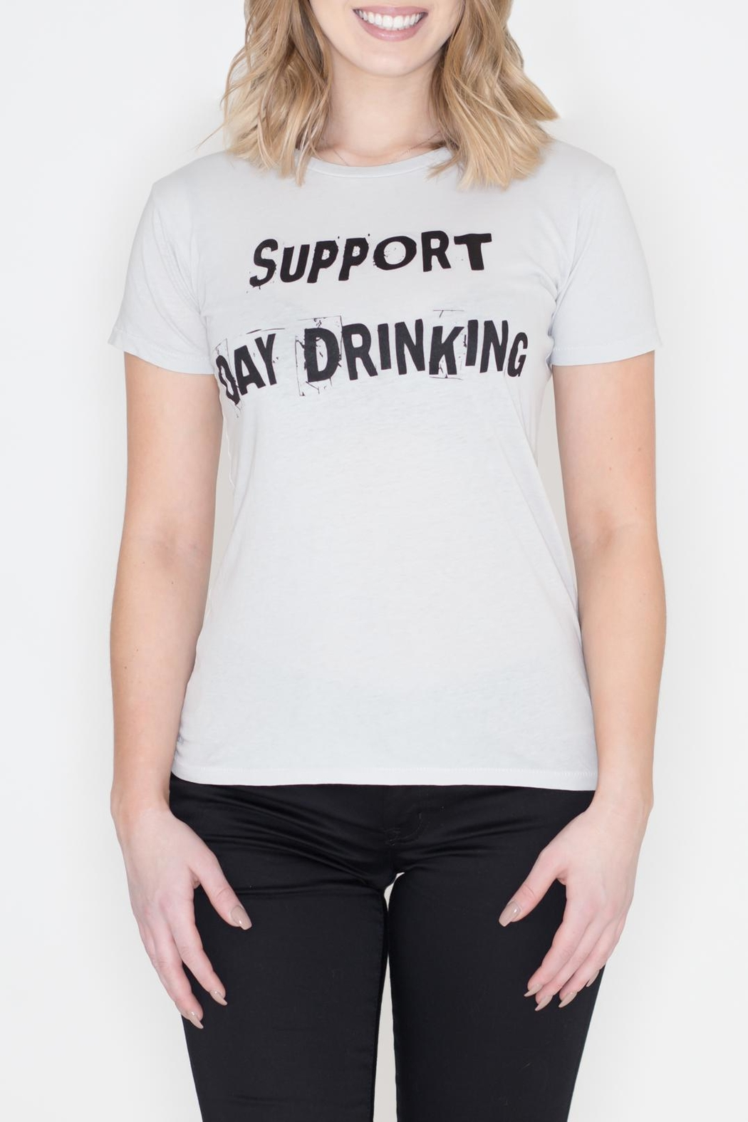 May 23 Day Drinking Tee - Front Cropped Image