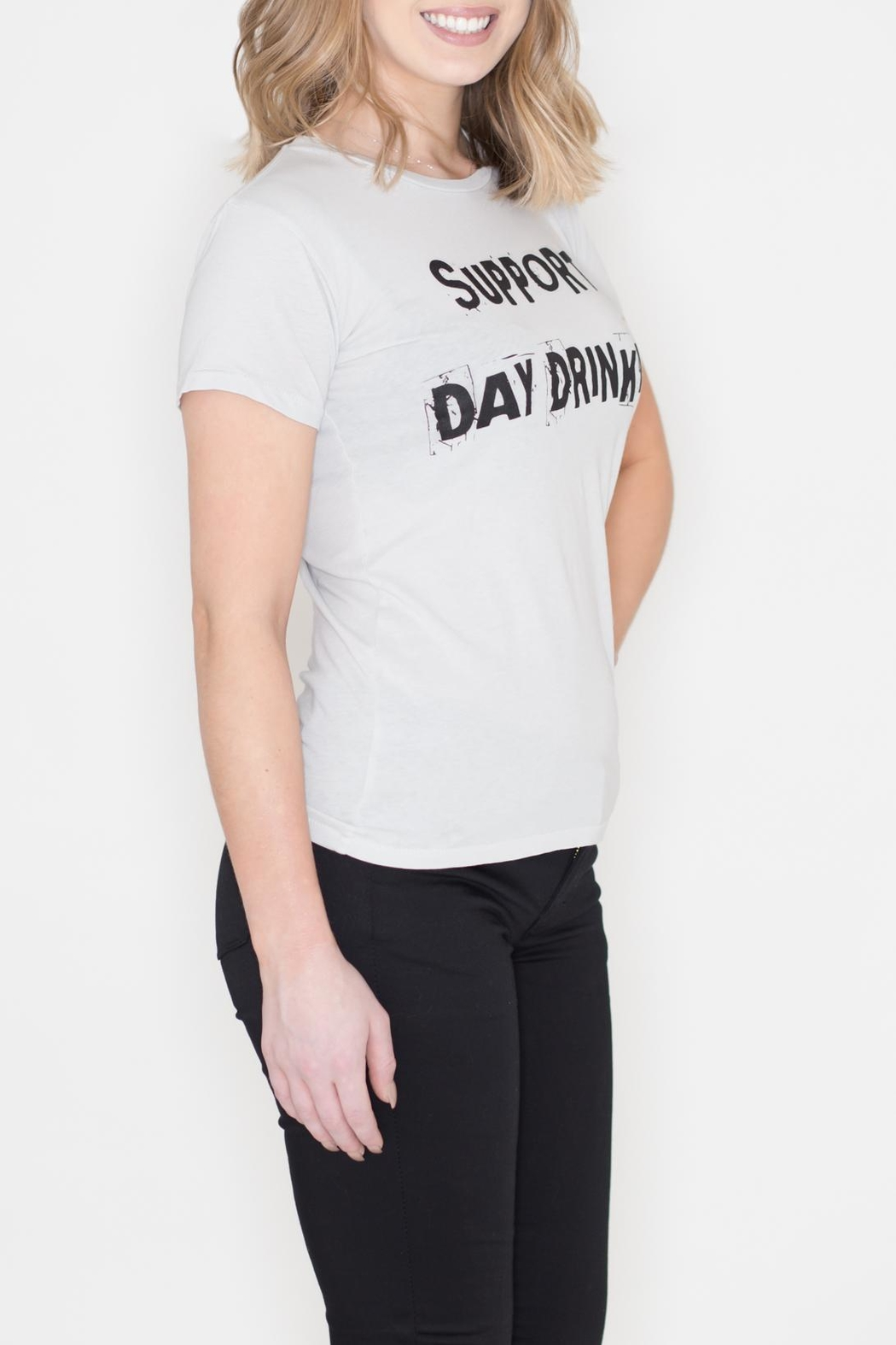 May 23 Day Drinking Tee - Front Full Image