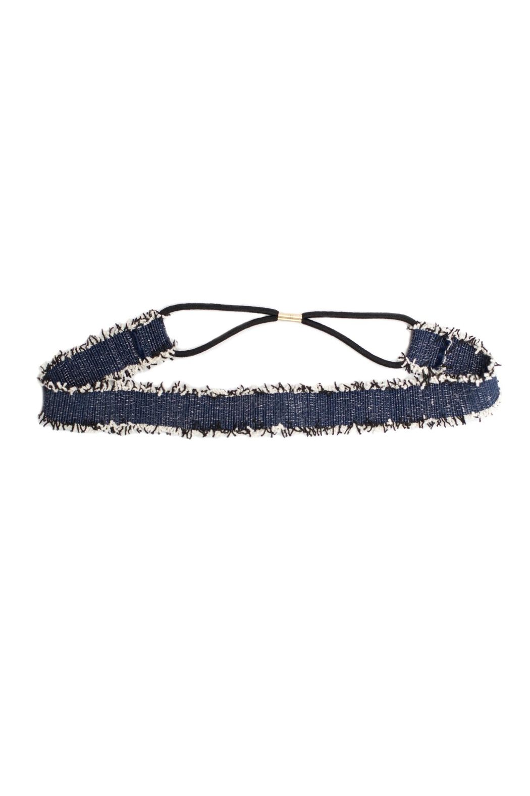 May 23 Denim Headband - Front Cropped Image