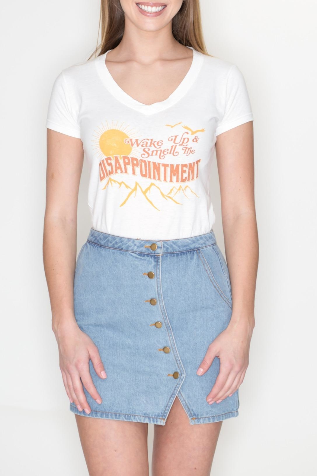 May 23 Disappointment Tee - Front Full Image