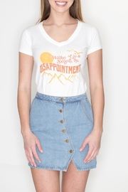 May 23 Disappointment Tee - Front full body