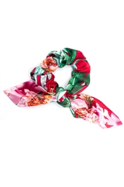 May 23 Floral Bow Scrunchie - Product Mini Image