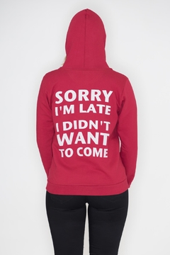 Shoptiques Product: I'm Sorry Hoodie