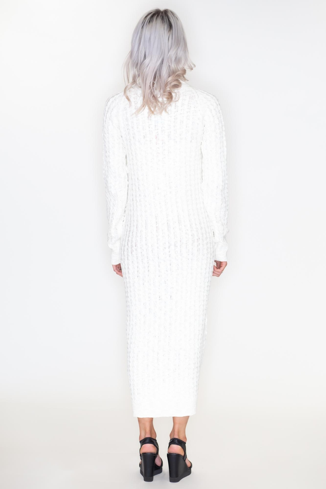 May 23 Maxi Sweater Dress - Side Cropped Image