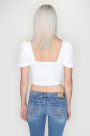 May 23 Puff Sleeve Crop - Side cropped