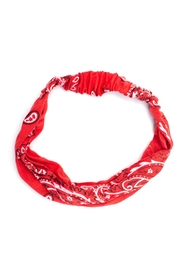 May 23 Red Paisley Headband - Product Mini Image