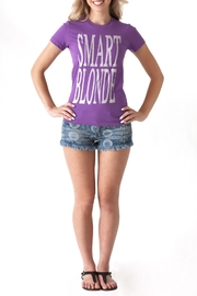 May 23 Smart Blonde Tee - Back cropped