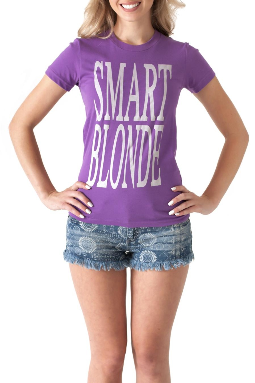 May 23 Smart Blonde Tee - Main Image
