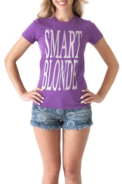 May 23 Smart Blonde Tee - Product List Image