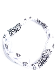May 23 White Paisley Headband - Product Mini Image