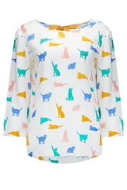 Sugarhill Boutique Maya Cat Top - Product Mini Image