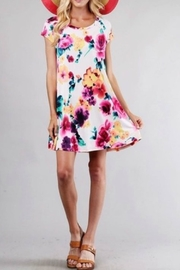 Style in the USA Maya Multi-Color Dress - Front full body