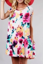 Style in the USA Maya Multi-Color Dress - Product Mini Image