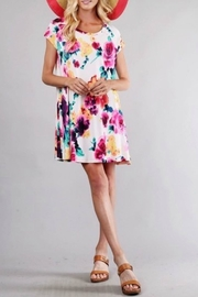 Style in the USA Maya Multi-Color Dress - Side cropped