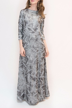 Shoptiques Product: Crinkle Foil Dress