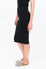 Maya's Place Knee-Length Pencil Skirt - Back cropped