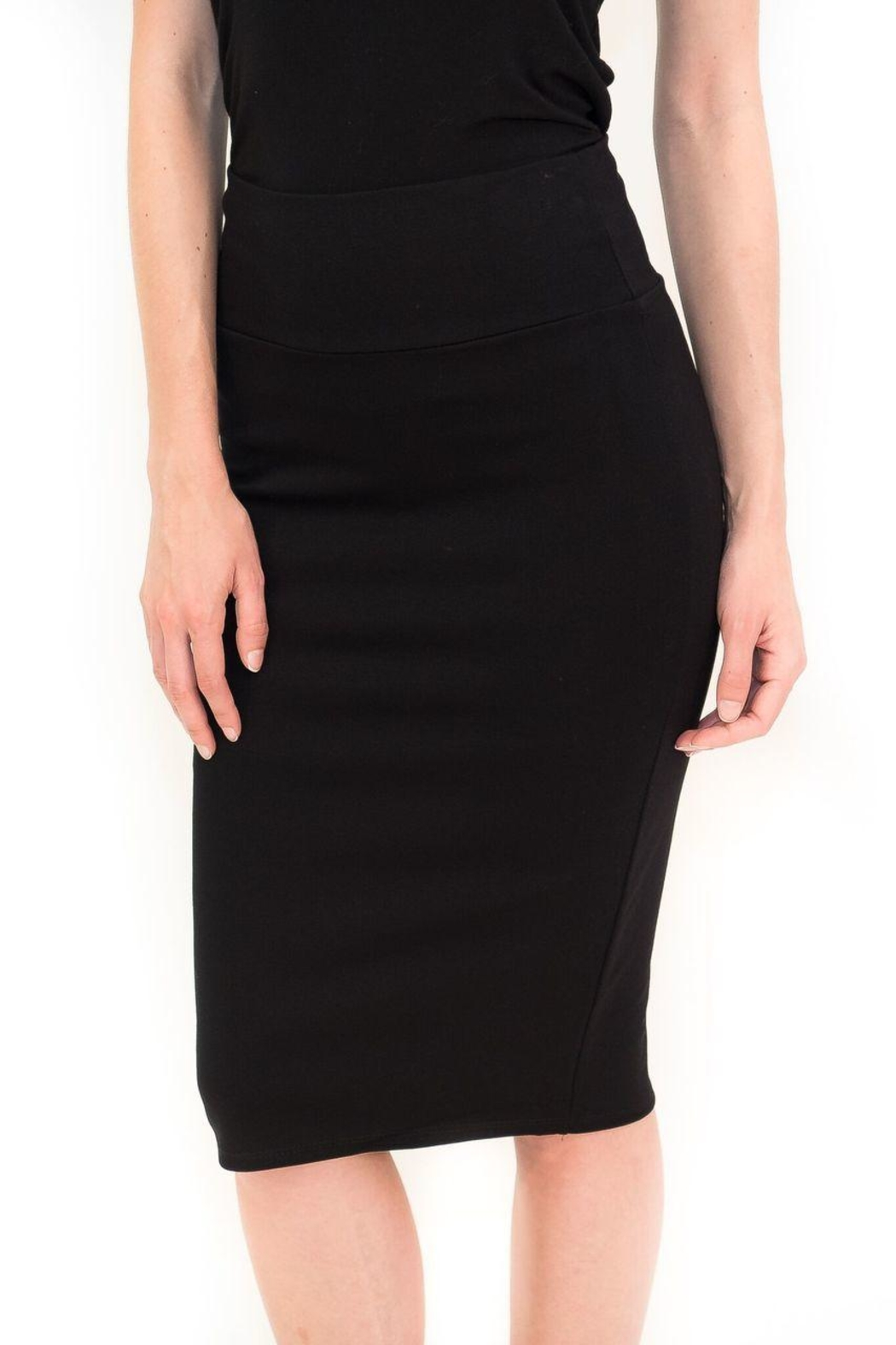 Maya's Place Knee-Length Pencil Skirt - Front Cropped Image